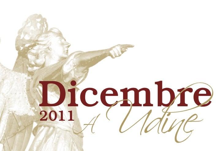 Dicembre a Udine