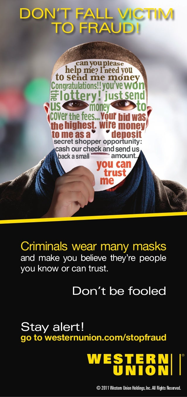 Brochure Dont Fall Victim to Fraud