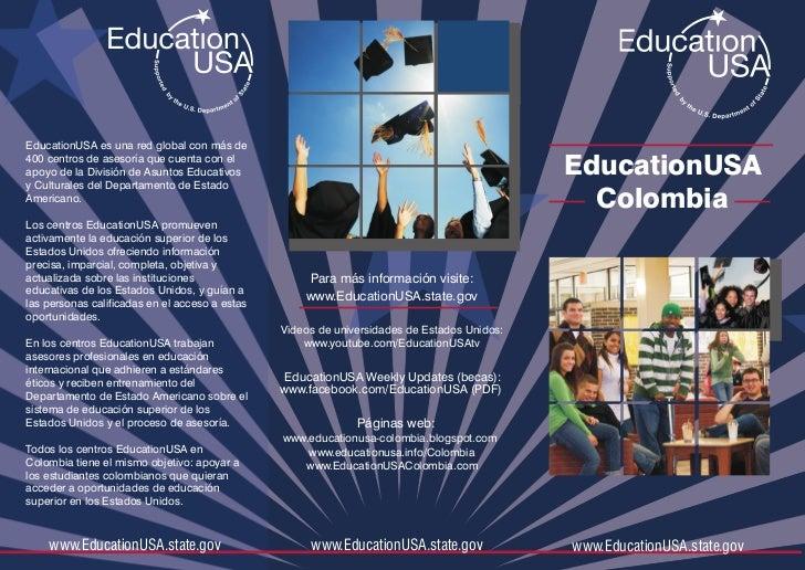 Brochure EducationUSA colombia