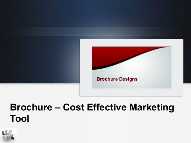 Brochure your most important marketing tool for Brochure design tools