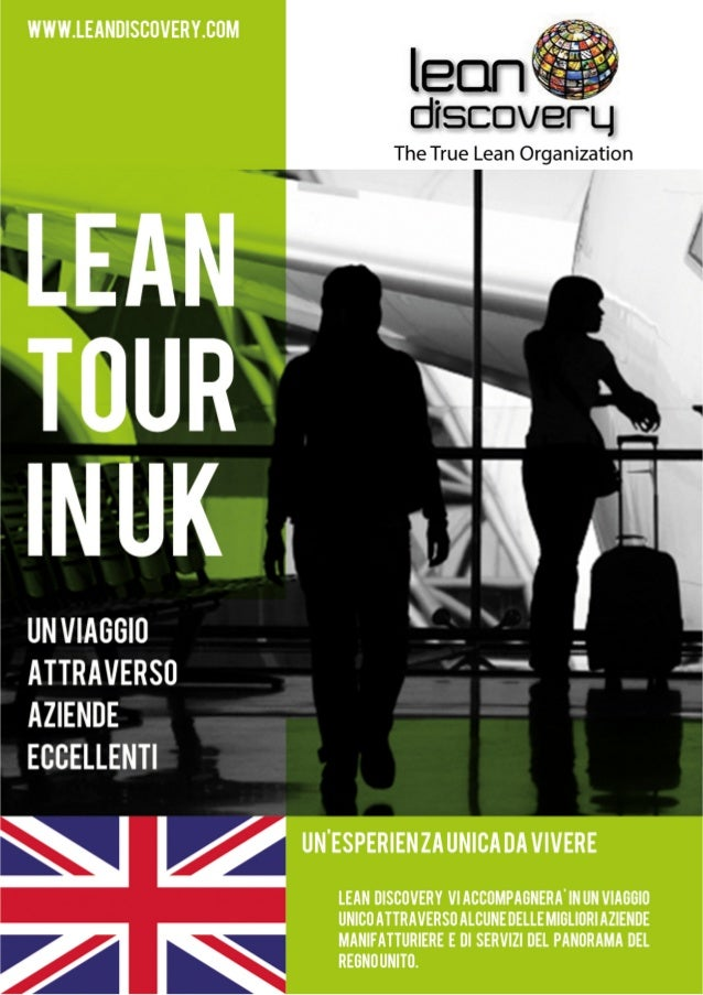 Brochure viaggio UK di Lean Discovery