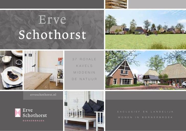 Brochure Erve Schothorst