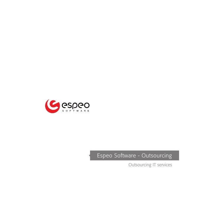 Espeo Software - Outsourcing            Outsourcing IT services
