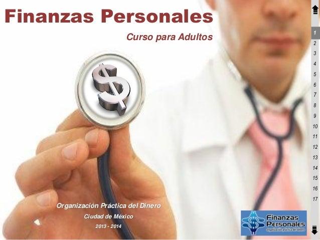 Brochure finanzas para adultos 2013