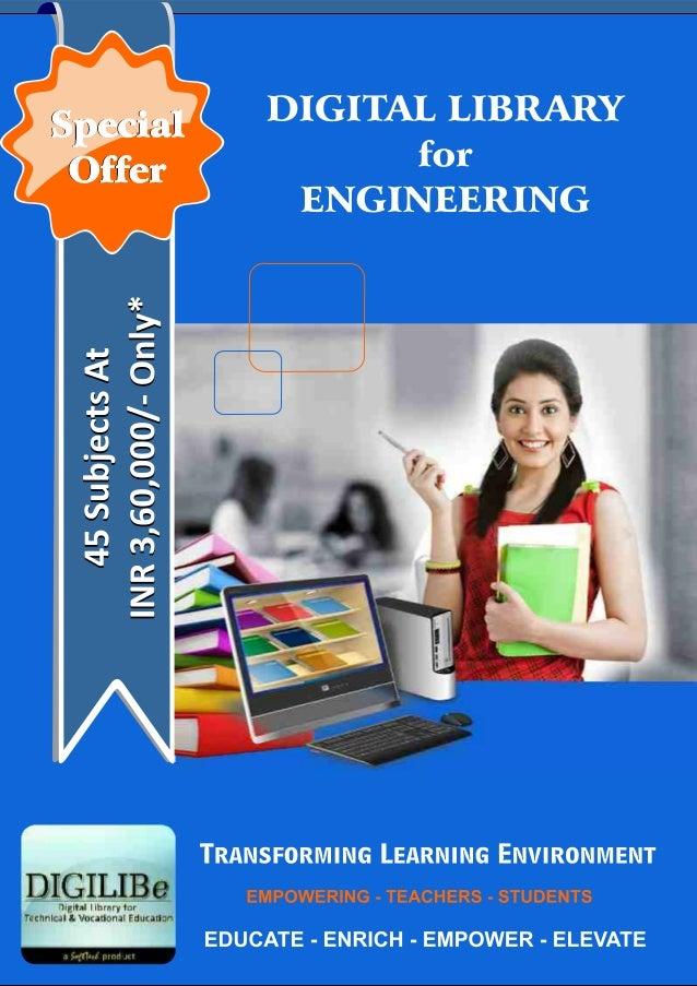 Brochure for engineering