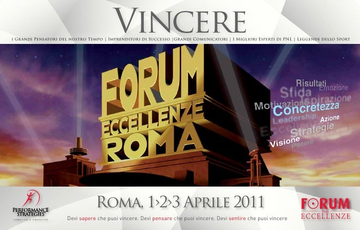 Forum delle Eccellenze