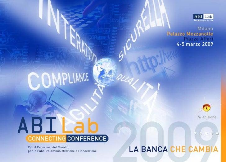 Brochure Forum Abi Lab 2009