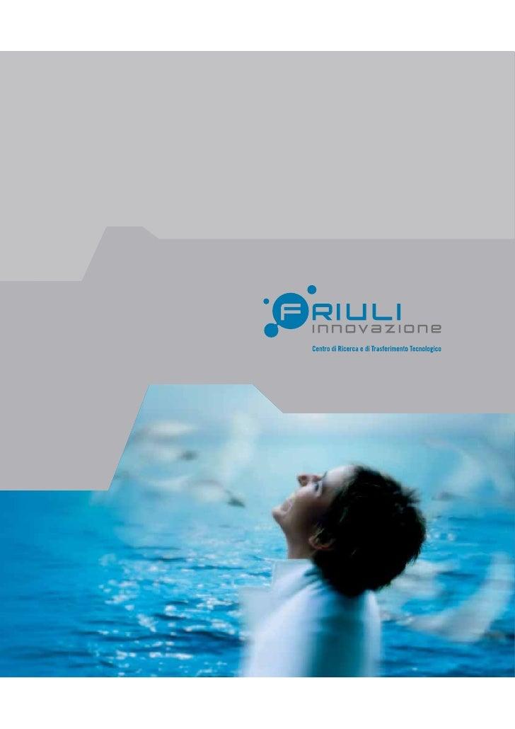 Friuli Innovazione - Brochure italiano