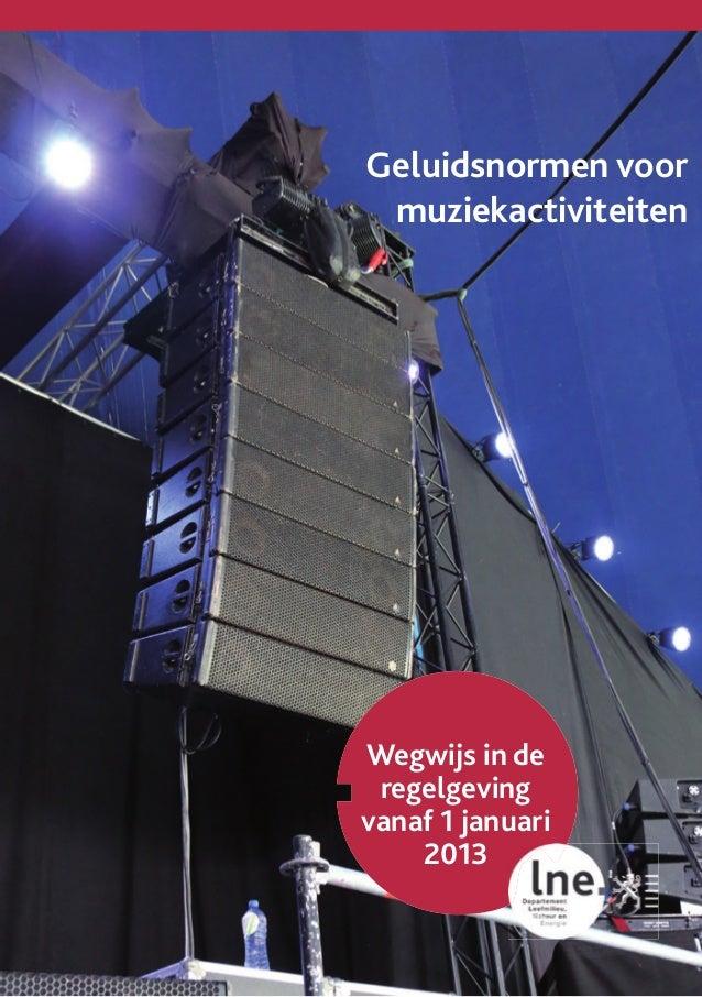 Brochure geluidsnormen