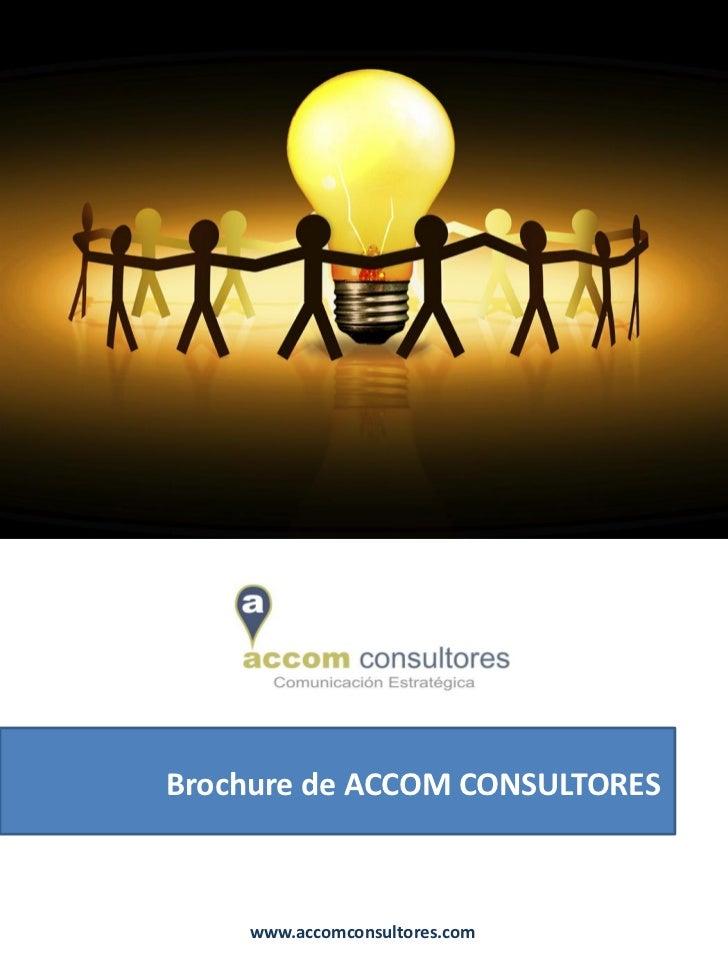Brochure general de accom consultores