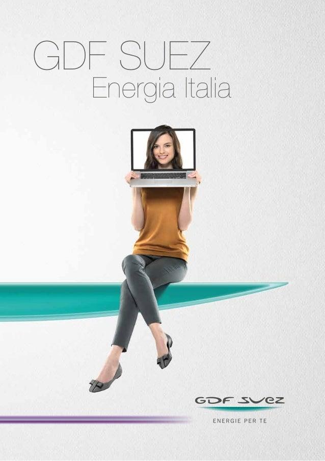 Brochure 2012 GDF SUEZ Italia