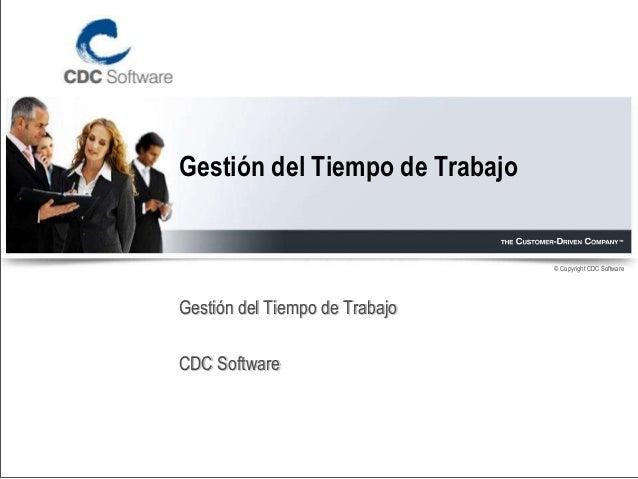 CDC Software - GTT Gestión del Tiempo de Trabajo