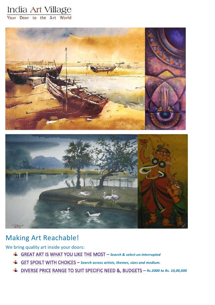 Making Art Reachable! We bring quality art inside your doors:                                                       Search...