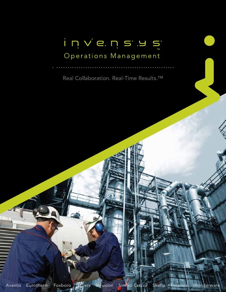 Brochure Invensys Operations Management 04 11