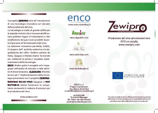 ZEWIPRO Brochure it
