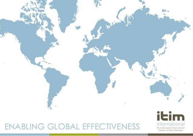 Itim International, The Expert in Intercultural Management and Organisational Culture