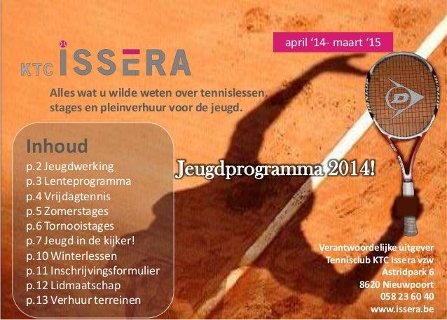 Brochure ktc issera 2014