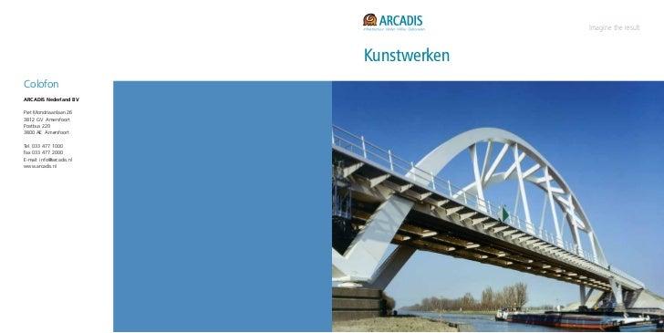 Brochure kunstwerken (tunnels en bruggen)