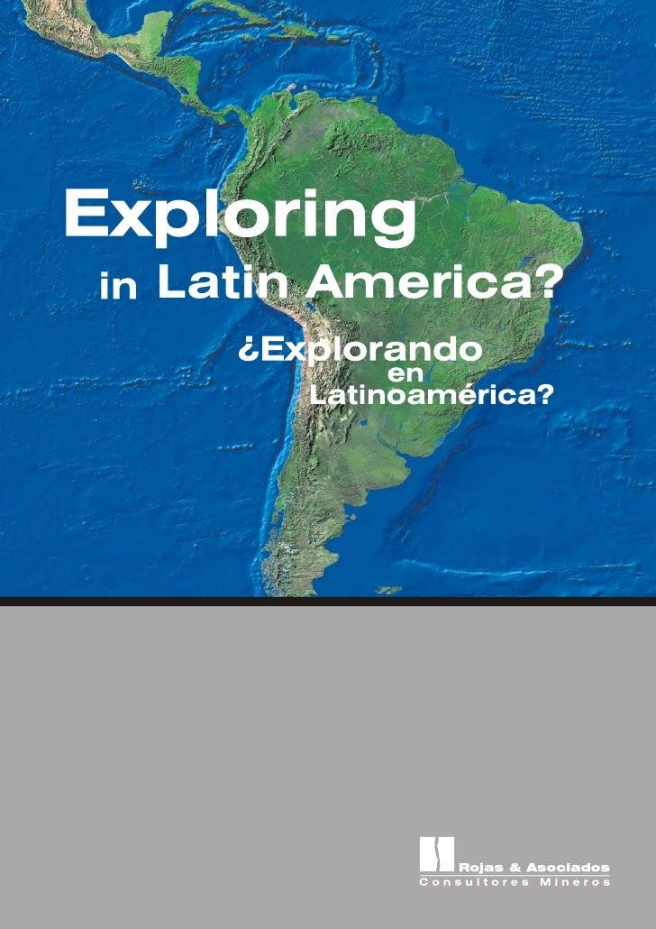 ¿Explorando en Latinoamérica? / Exploring in Latin America?