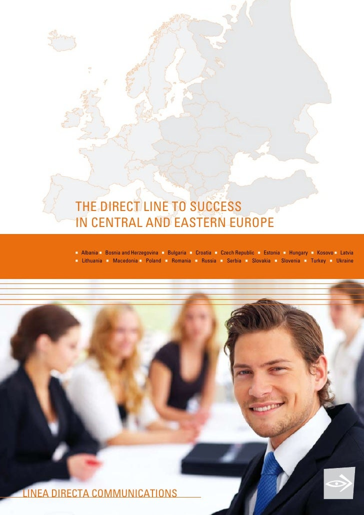 tHE DIrECt LINE tO suCCEss          IN CENtrAL AND EAstErN EurOPE           n   Albania n Bosnia and Herzegovina n Bulgari...