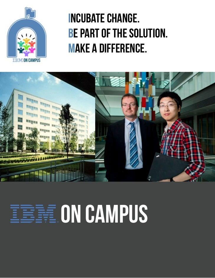 IBM on Campus E-Brochure