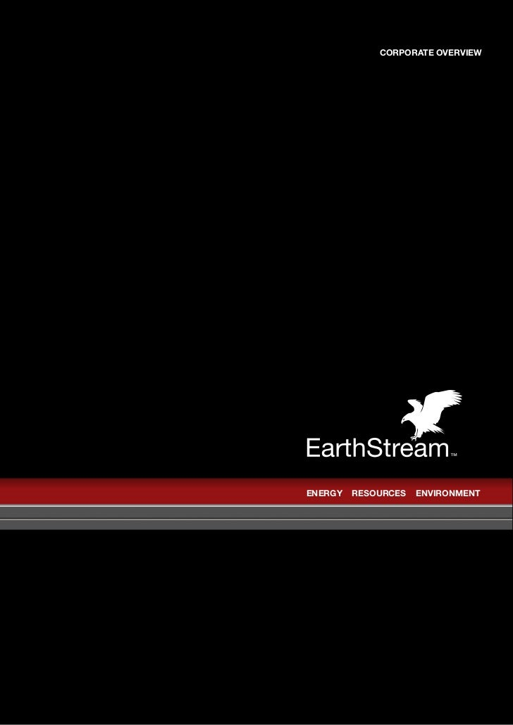 EarthStream Global/Brochure
