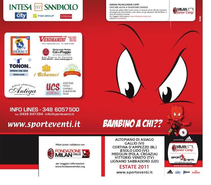 Milan Junior Camp 2011 (IT)