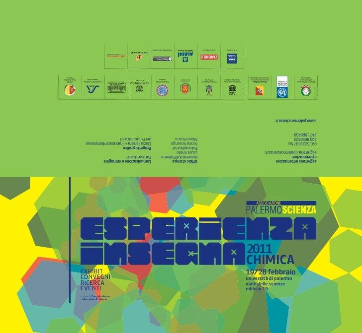 Brochure palermo scienza Esperienza insegna 2011