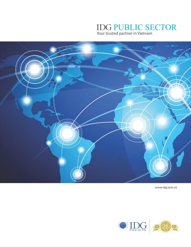 IDG Public Sector Brochure in 2013