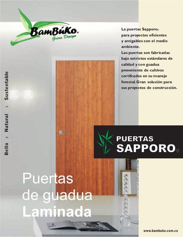 Brochure puertas lw