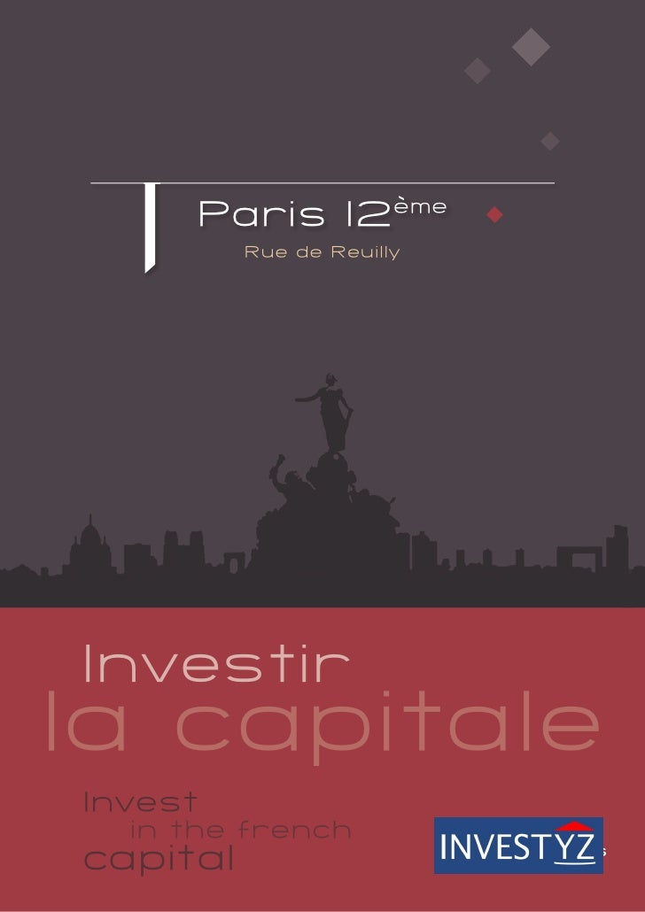 Property investment Central Paris 12th District