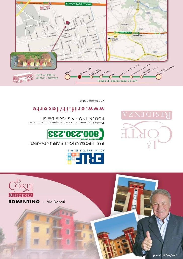 Brochure romentino
