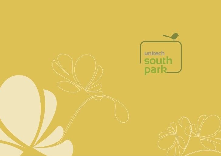 Unitech South Park Gurgaon : New Project Sector 70