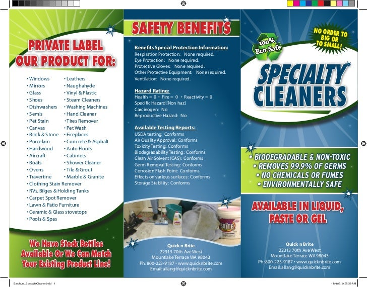 Private Label Cleaning Products For Your Business Hotel