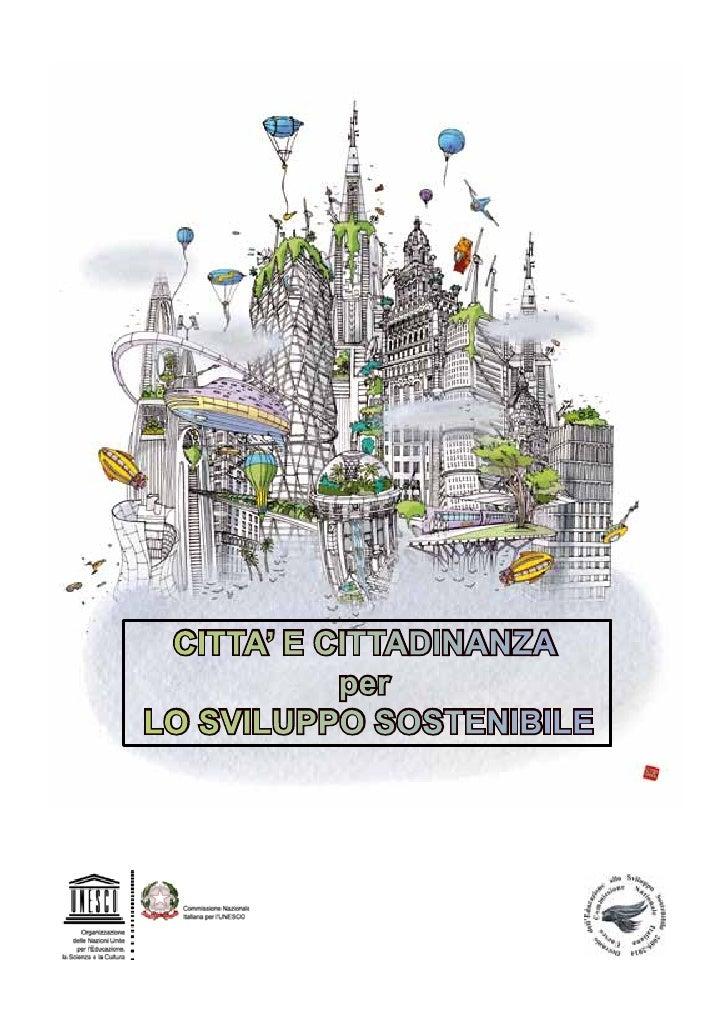 Brochure Città e Cittadinanza per lo Sviluppo Sostenibile
