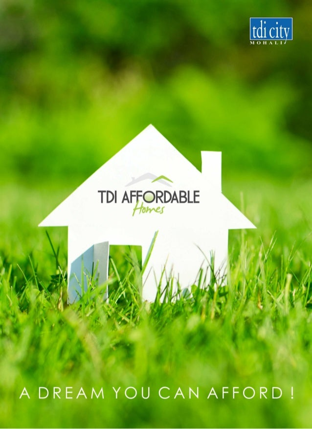 TDI City Affordable Homes sector 110 mohali chandigarh