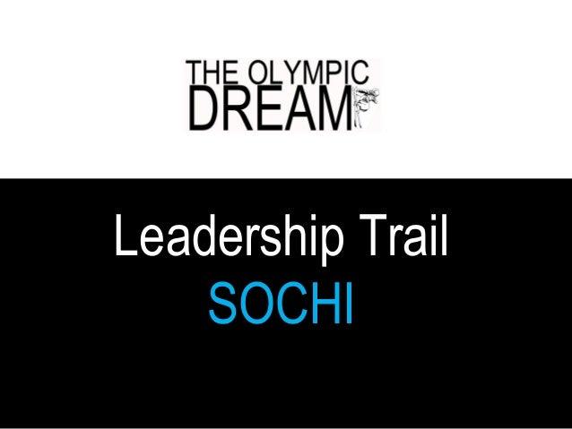 Leadership Trail Sochi