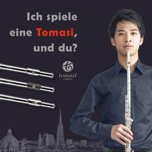 Ich spiele  eine Tomasi,  und du?