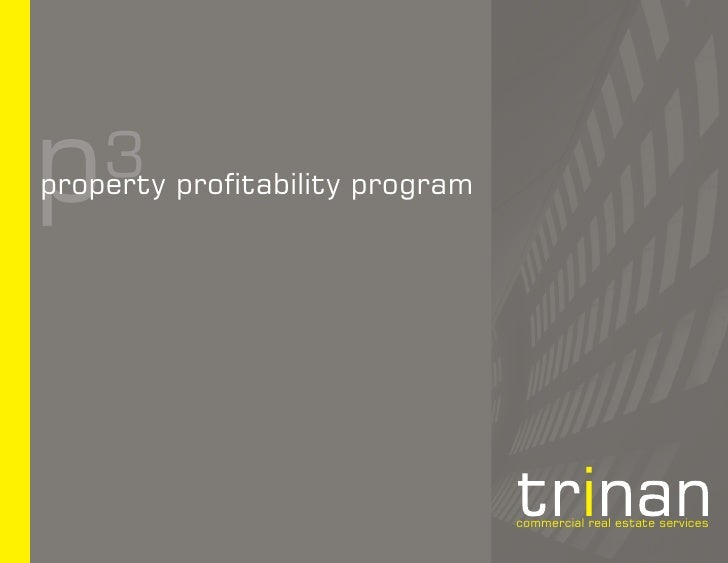 p   3 profitability program property                                   commercial real estate services