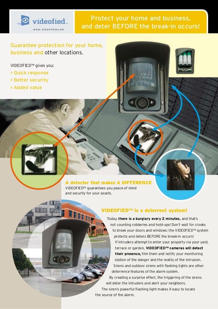 Brochure videofied outdoor  home business en