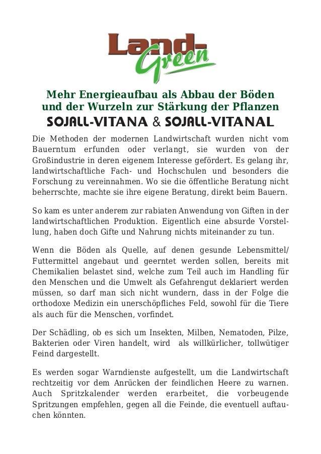 Brochure vitana vitanal