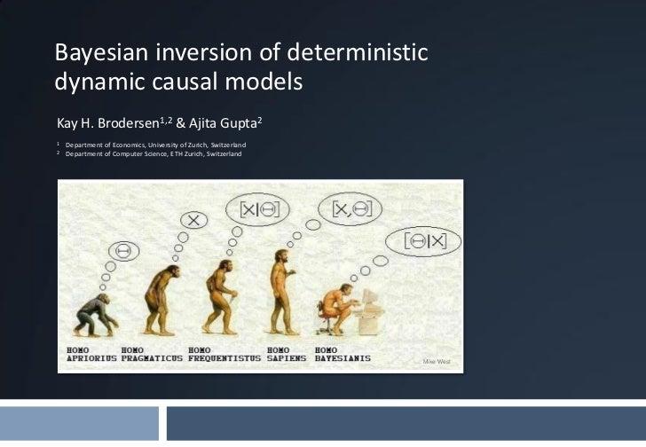 Bayesian inversion of deterministicdynamic causal modelsKay H. Brodersen1,2 & Ajita Gupta21   Department of Economics, Uni...