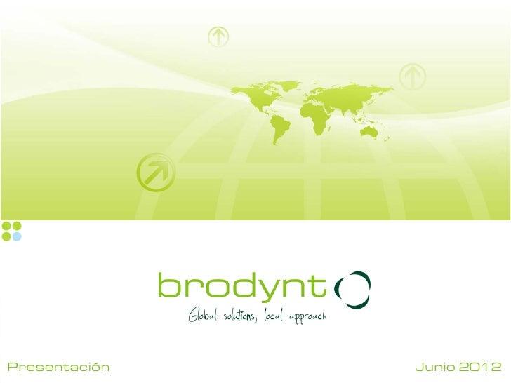 Presentación   Junio 2012