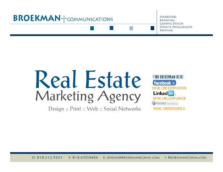 BROEKMAN communications - Real Estate Marketing