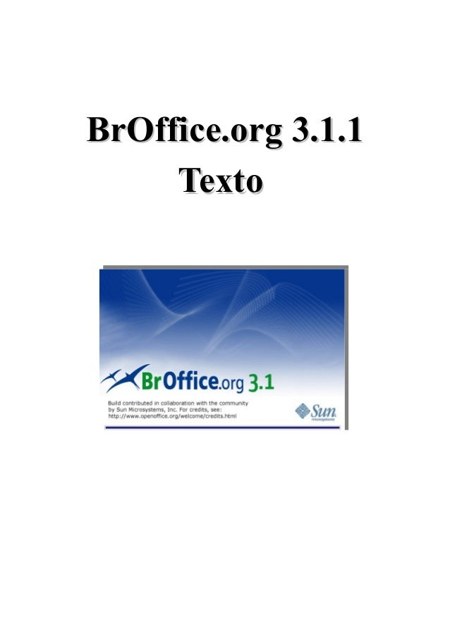 Br office texto 3.1