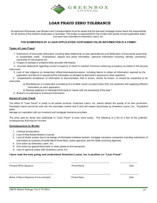 Broker license application