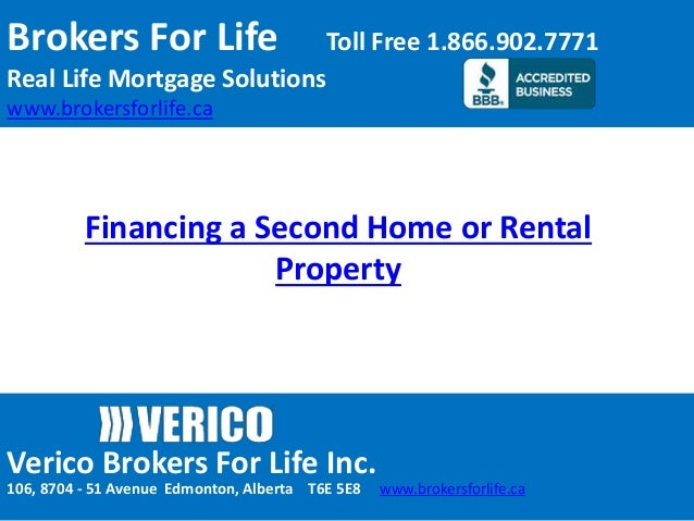 Financing A Second Home Or Rental Property