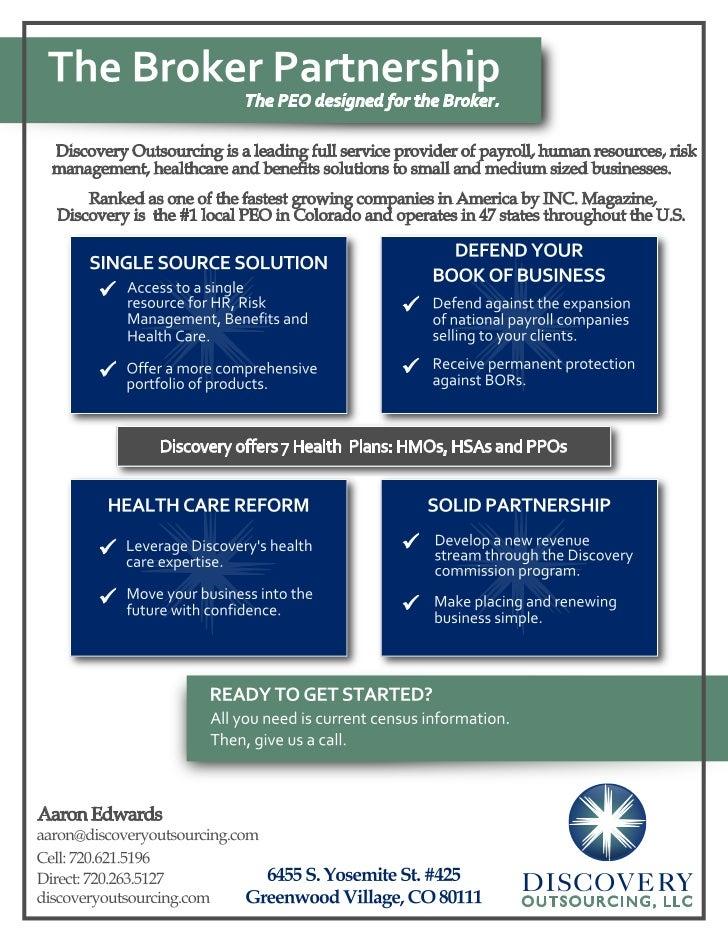 The Health Broker Partnership
