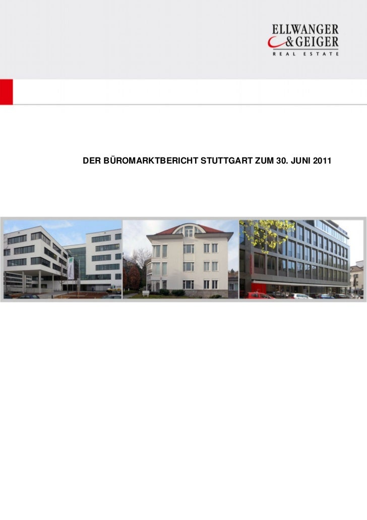 Büromarktbericht Stuttgart 1. Halbjahr 2011