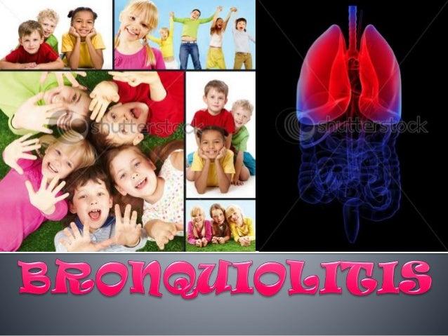 Definición Es una inflamación difusa y aguda de las vías aéreas inferiores(bronquiolos terminales y respiratorios), de nat...